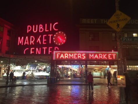 Fish Market in Seattle